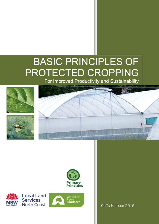 Basic Principles of Protected Cropping