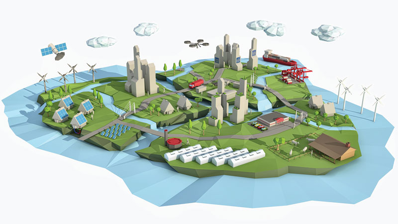 Sustainable Urban Delta's – Our vision of the world, reflected in our choices, our ambition, and in our identity. Priva – Creating a Climate for growth.